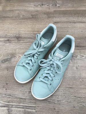 adidas stan smith Basket à lacet bleu clair