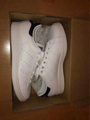 adidas stan smith Sneakers met veters wit-donkerblauw