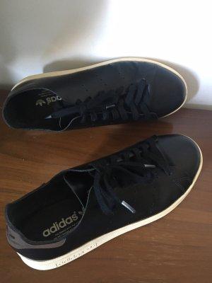 adidas stan smith Basket à lacet noir cuir