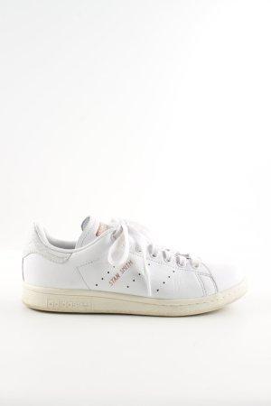 adidas stan smith Sneakers met veters wit casual uitstraling