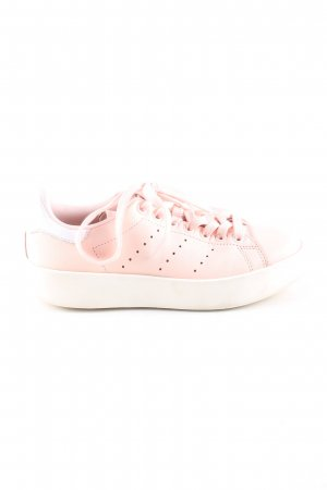 adidas stan smith Schnürsneaker pink-weiß Casual-Look