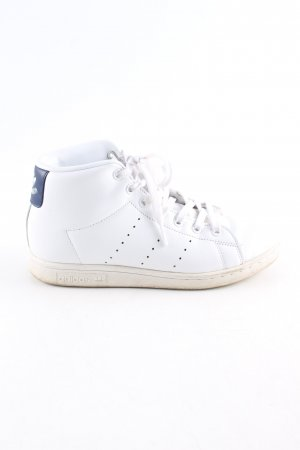 adidas stan smith Lace-Up Sneaker white-blue casual look
