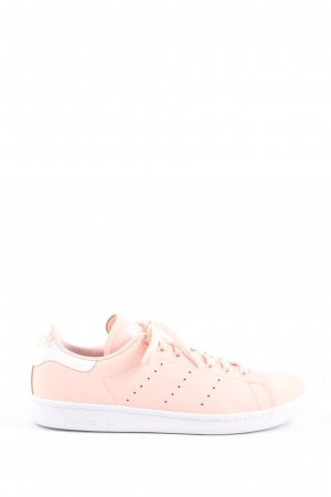 adidas stan smith Basket à lacet rose-blanc