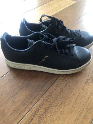 Adidas Stan Smith Adicolor Sneakers met veters zwart