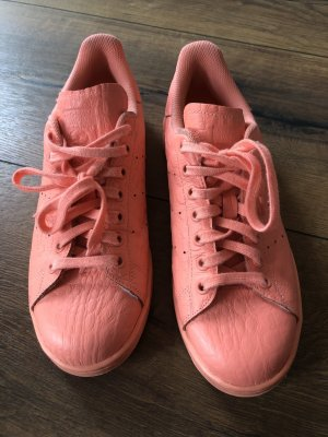Adidas Stan Smith Adicolor Lace-Up Sneaker salmon