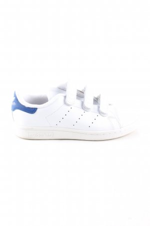 adidas stan smith Zapatillas con velcro blanco-azul estilo deportivo