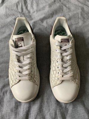 Adidas Stan Smith Sneaker mit Schlangenprint - Gr. 38