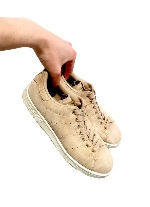 Adidas Stan Smith Adicolor Sznurowane trampki jasnobeżowy-biały