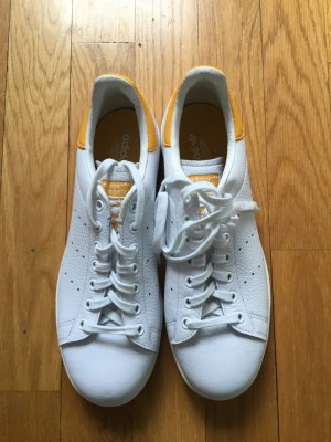 Adidas Stan Smith Adicolor Sneaker stringata bianco-giallo scuro Pelle
