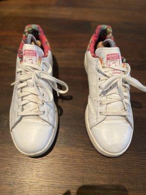 adidas stan smith Sneakers met veters framboosrood-wit