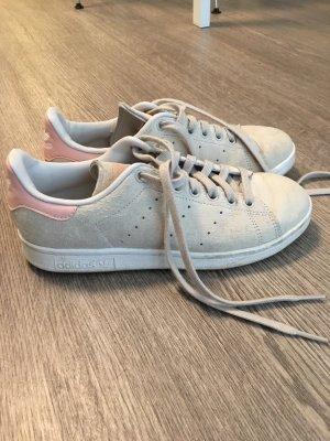 Adidas Stan Smith Wildleder rosa beige