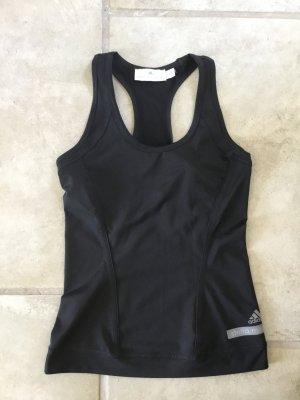 Adidas by Stella McCartney Top deportivo sin mangas negro Poliéster