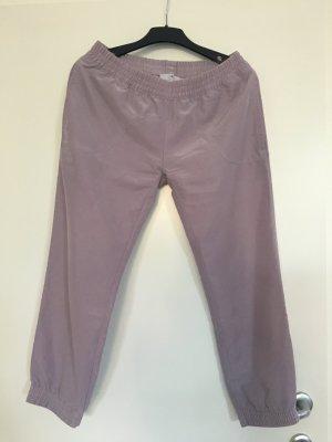 Adidas by Stella McCartney Pantalone da ginnastica rosa antico-malva Cupro