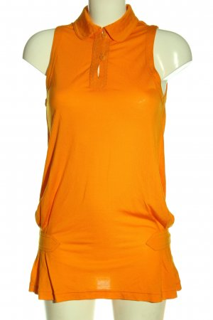 Adidas Stella Mccartney Długi top jasny pomarańczowy W stylu casual