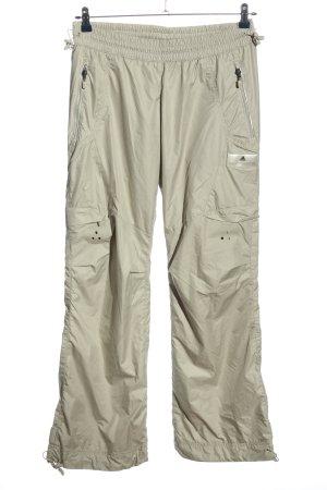 Adidas Stella Mccartney Pantalone da ginnastica grigio chiaro stile atletico