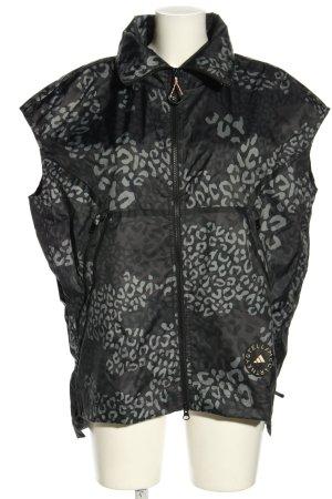 Adidas Stella Mccartney Kamizelka sportowa czarny-jasnoszary Abstrakcyjny wzór