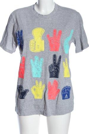 Adidas Stellasport Koszulka z nadrukiem Melanżowy W stylu casual