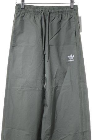 Adidas Stoffhose graugrün schlichter Stil
