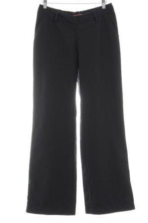 Adidas Stoffhose schwarz schlichter Stil
