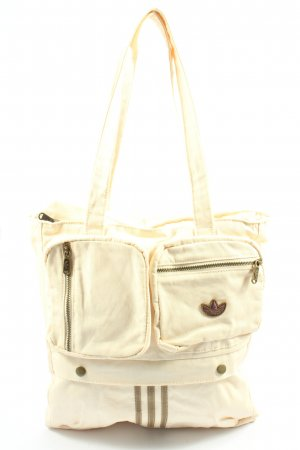 Adidas Stofftasche creme Casual-Look