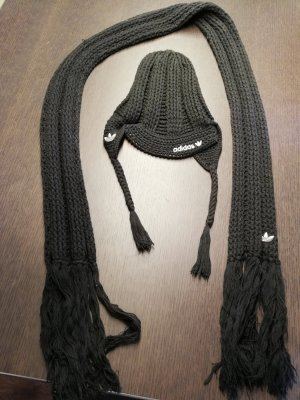 Adidas Knitted Scarf black