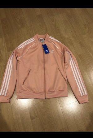Adidas Chaqueta deportiva rosa claro