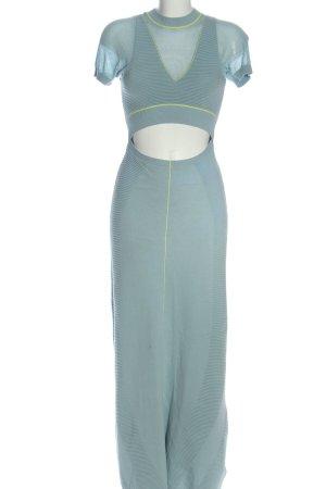 Adidas Vestido tejido azul estilo extravagante