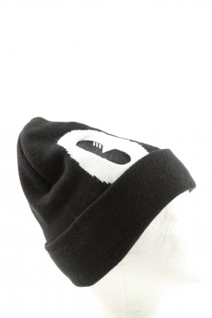 Adidas Knitted Hat black-white casual look