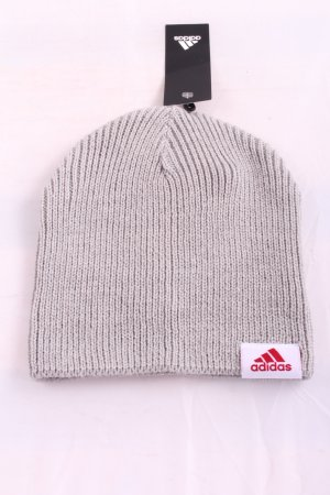 Adidas Knitted Hat light grey cable stitch casual look