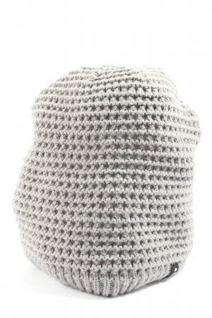 Adidas Cappello a maglia grigio chiaro stile casual