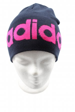 Adidas Knitted Hat blue-pink casual look