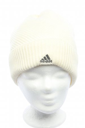 Adidas Knitted Hat cream casual look