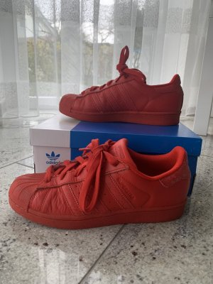 Adidas Originals Sneakers met veters rood