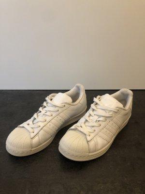 Adidas superstar Sneakers met veters wit