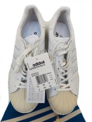 Adidas Originals Sneakers met veters wit-wolwit Leer