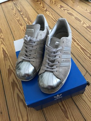 Adidas Lace-Up Sneaker light grey-silver-colored