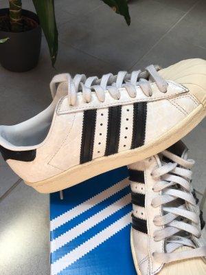 Adidas Superstar 80s Weiß Schwarz 36 2/3