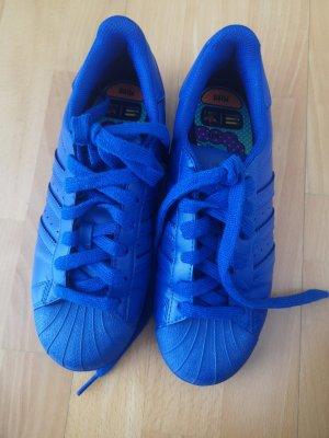 Adidas Superstar Adicolor 37 Blau wie neu in sehr gutem Zustand