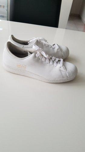 Adidas Superstar Clean all White weiß Gr. 38 2/3 oder UK 5 1/2