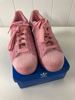 Adidas Originals Lace-Up Sneaker light pink leather