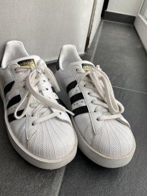 Adidas Superstar Plateau Sneaker   Größe 39 1/3