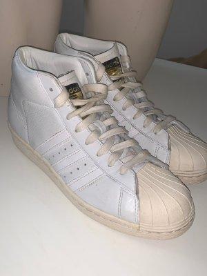 Adidas Originals Sneakers met veters wit-wolwit Leer