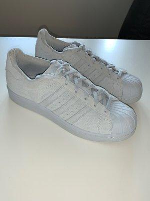 Adidas Superstar Rauleder Gr.38/ Neuwertig