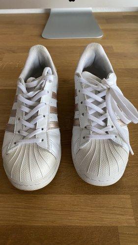 Adidas Superstar roségold, Gr. 38