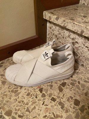Adidas Sneaker slip-on bianco