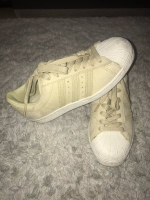 Adidas Superstar sneaker in pastellgrün