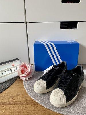 Adidas Superstar Sneaker schwarz weiß Größe 36 2/3