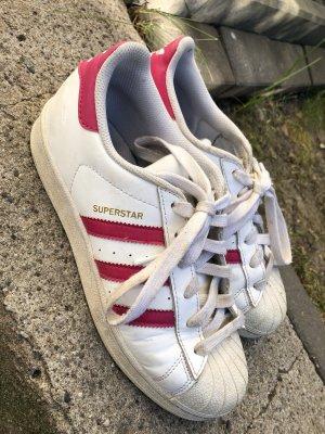 Adidas Originals Zapatilla brogue blanco-rosa