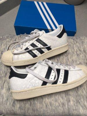Adidas Superstars 80s Weiß Schwarz 36 2/3
