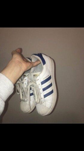 Adidas Originals Zapatilla brogue blanco-azul